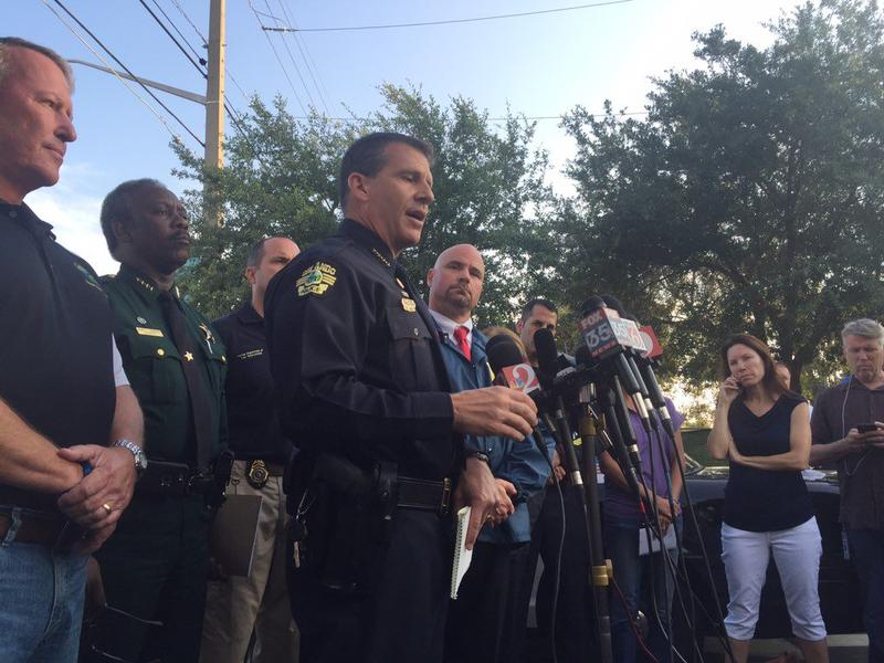 Orlando police, investigators brief reporters on early morning shooting at the Pulse nightclub.