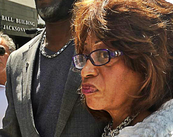Congresswoman Corrine Brown (D-FL5) pleads not guilty to fraud counts.