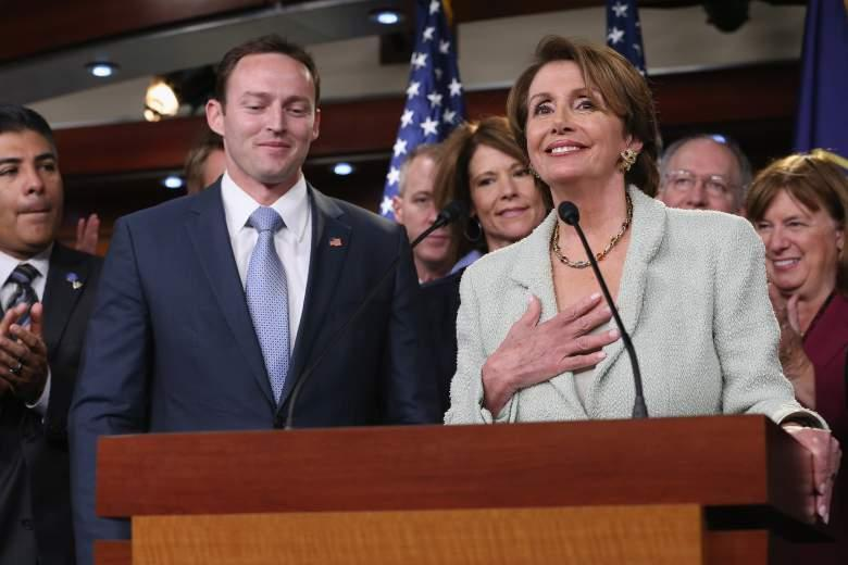 Patrick Murphy with House Minority Leader Nancy Pelosi in November 2012.