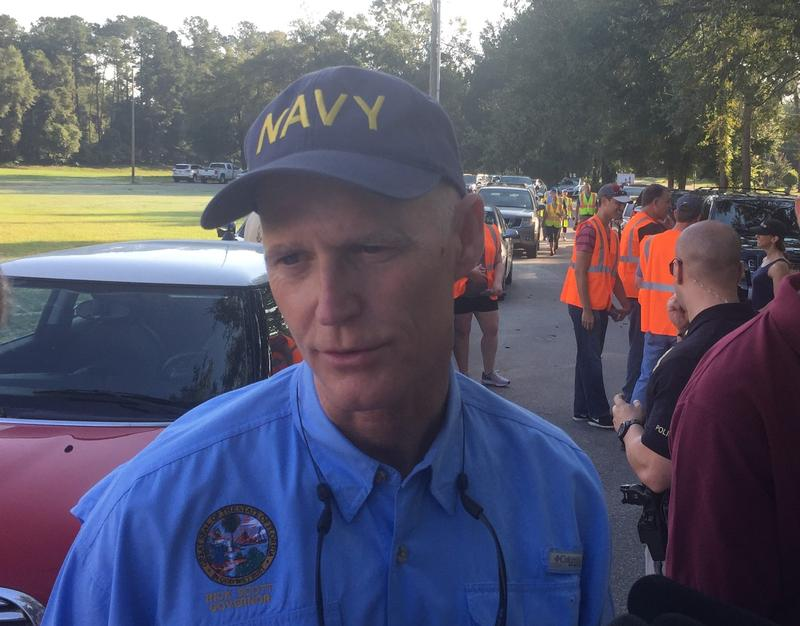 Gov. Scott's clean up efforts could lay the ground work for his next political move.