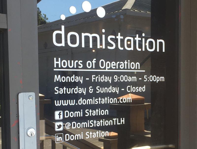 Domi's front door