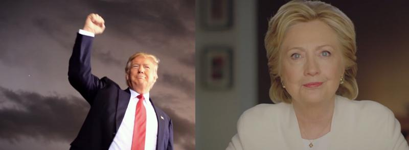 Donald Trump and Hillary Clinton make their final pitch to voters