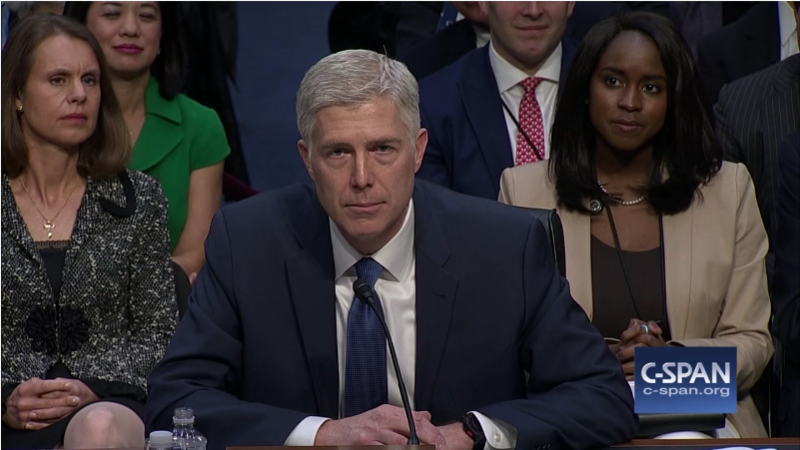 Supreme Court nominee Neil Gorsuch