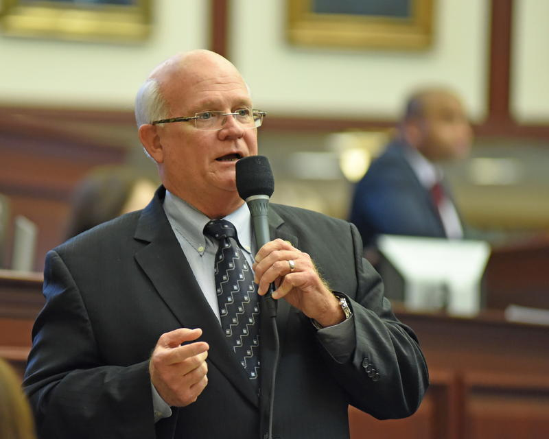 Then Rep. Dennis Baxley (R-Ocala).  He now serves in the Florida Senate.