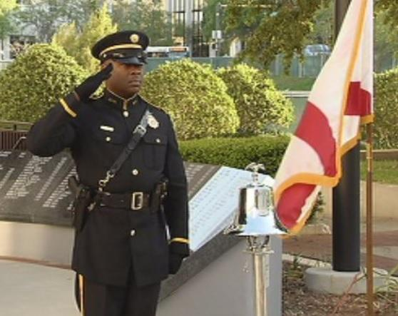 Tuesday's 'Ringing of the Bell' ceremony honored Florida's fallen firefighters