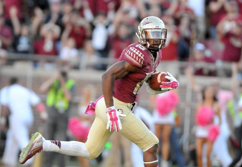 Former FSU WR Travis Rudolph's father died after being accidentally shot while working on repairs in a West Palm Beach Club. The gun was discharged by a co-worker while it was being removed from a shelf in an adjacent room.