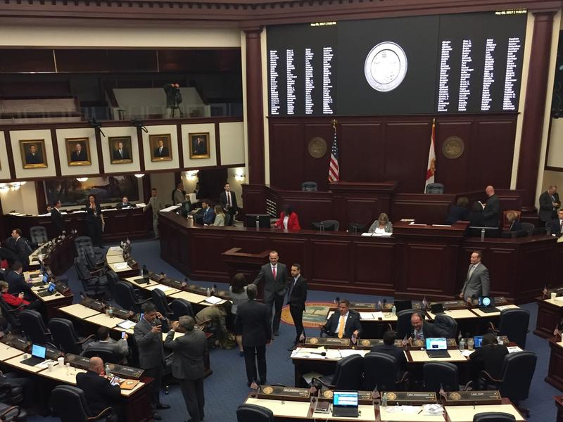 FL House shortly before adjournment.