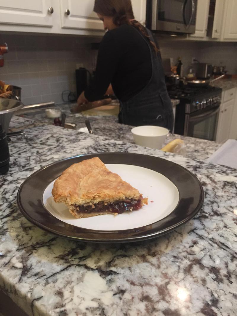 Muscadine Pie.