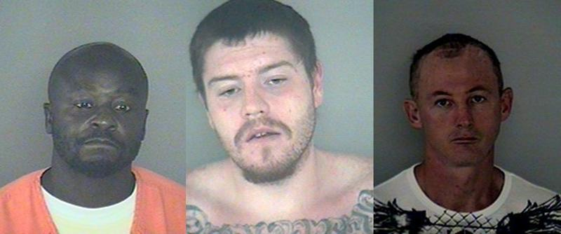 43-year-old Joel Cooper, 44-year-old Donald Cotterman, and 25-year-old Casey Brandon escaped from the Wakulla County jail early Friday morning. Authorities are still looking for them.