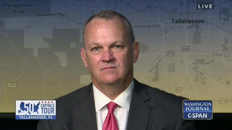 "House Speaker Richard Corcoran appeared on C-SPAN's ""Washington Journal"" program Wednesday (12/6/17) to discuss sexual harassment in the Florida Capitol and hurricane recovery."