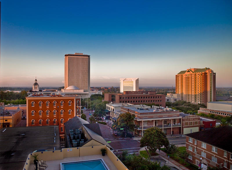 View of downtown Tallahassee