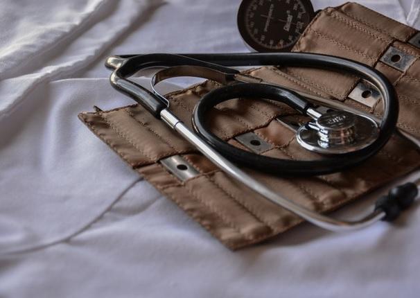 A stethoscope