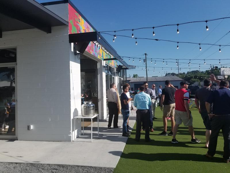 The Happy Motoring Bar hosts the Tallahassee Soccer Club's new drive to bring soccer to the city 5/3/18