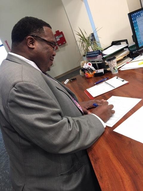 Tallahassee resident Darryl Jones files for Leon County School Board. He's challenging incumbent Maggie Lewis-Butler.
