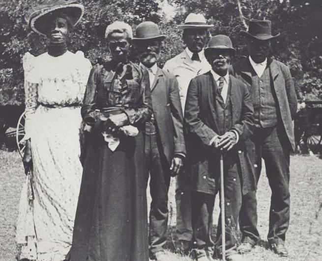 Juneteenth Emancipation Day Celebration, June 19, 1900, Texas.