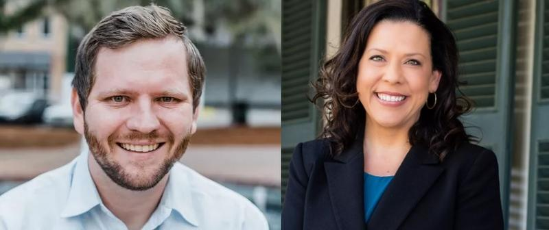 Jeremy Matlow and Lisa Brown will face off for Tallahasee City Commission Seat 3 in November.
