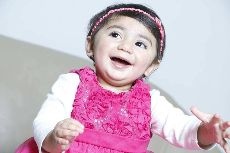 Two-year-old Zainab Mughal has a cancer called neuroblastoma which develops from immature nerve cells found in several areas of the body. She's also missing a particular antigen in her blood, an anomaly only found in people from certain areas of the Middl