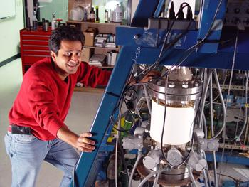 FAMU-FSU Engineering Professor Farrukh Alvi. FSU is the lead university for the Florida Center for Advanced Aero-Propulsion, a collaboration of the state's premier researchers in aerospace and aviation.
