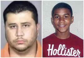 Left, George Zimmerman, 28; Right, Trayvon Martin, 17