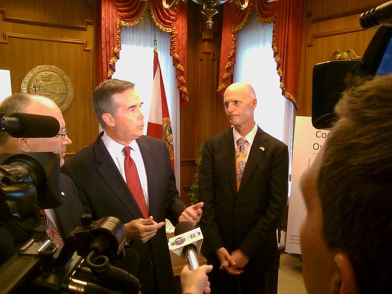 CFO Jeff Atwater and Gov. Rick Scott discuss Personal Injury Protection (PIP) reform