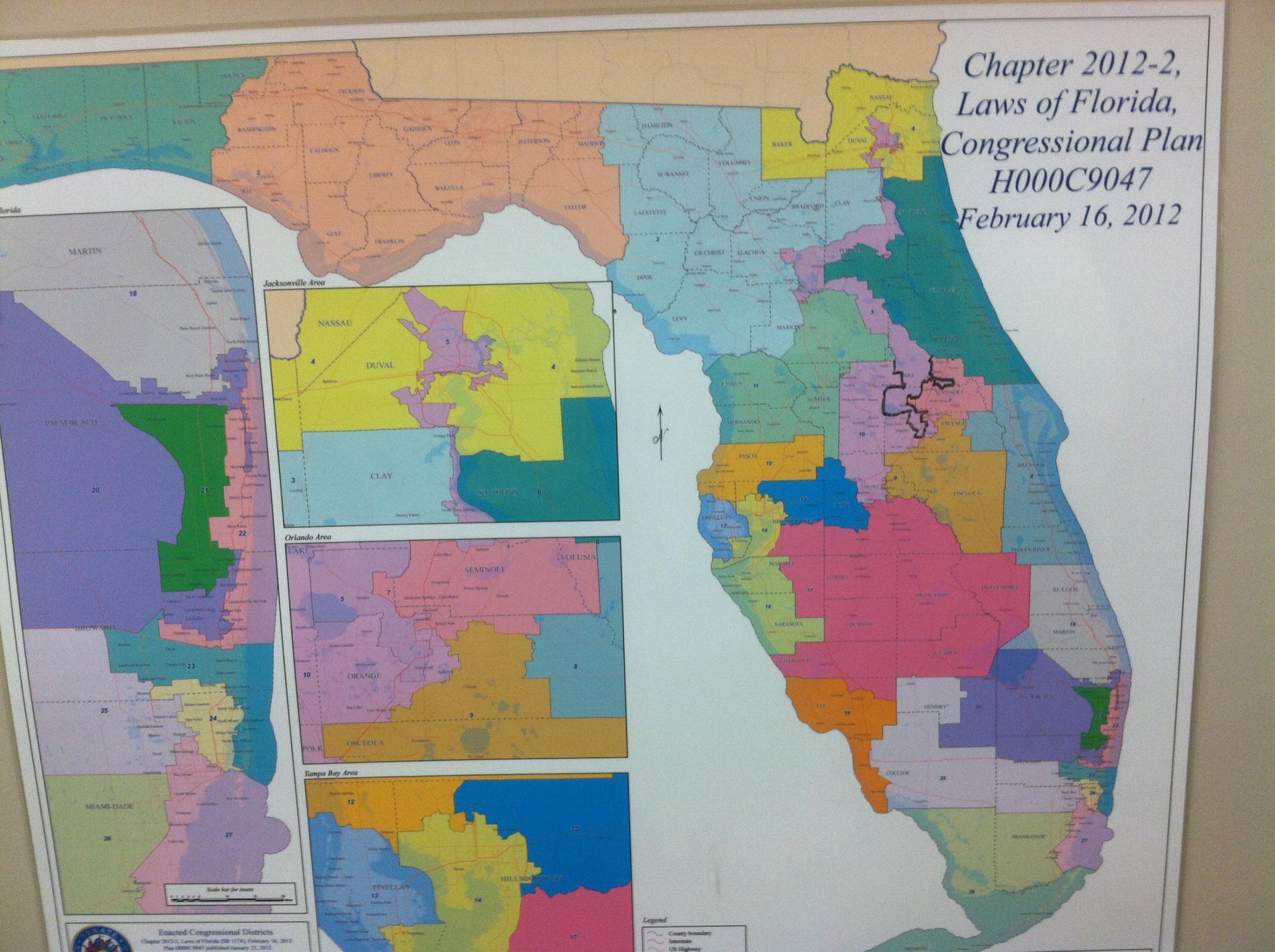Landmark Trial Could Send Florida's Congressional Maps ...