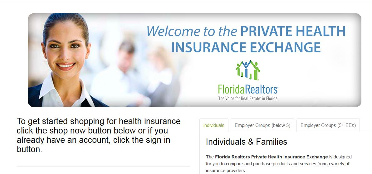 Health Insurance Florida >> Florida Health Choices Targets Realtors State Licensees For Health