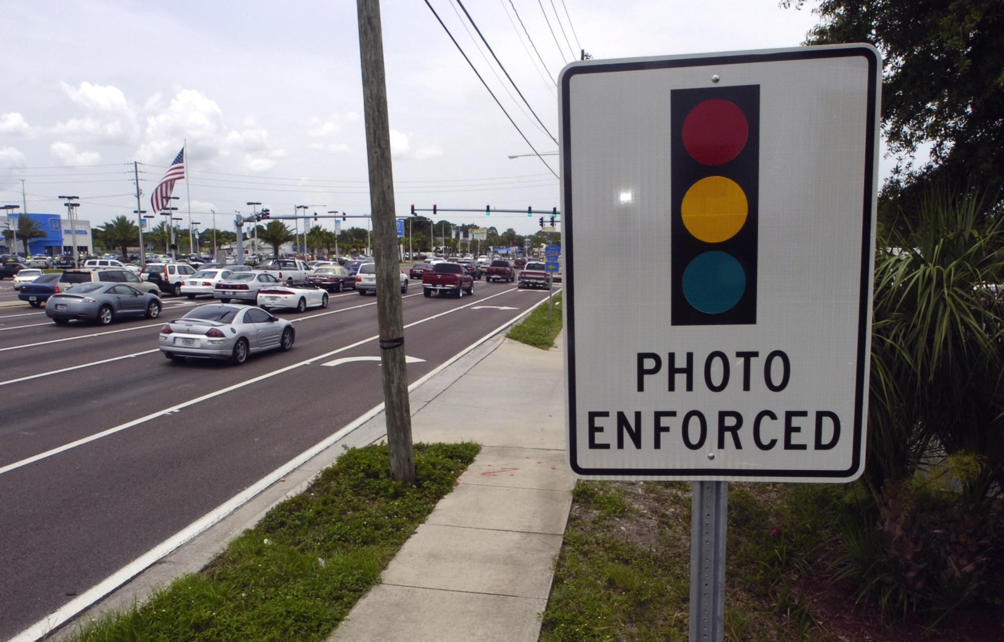 The House Is Poised To Take Up A Bill That Would End The Use Of Red Light  Cameras In Florida. The Widow Of A Man Killed By A Red Light Runner Failed  To ...