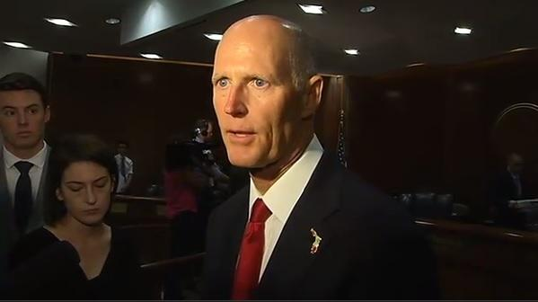 Gov. Scott Joins Pres. Trump For Lunch