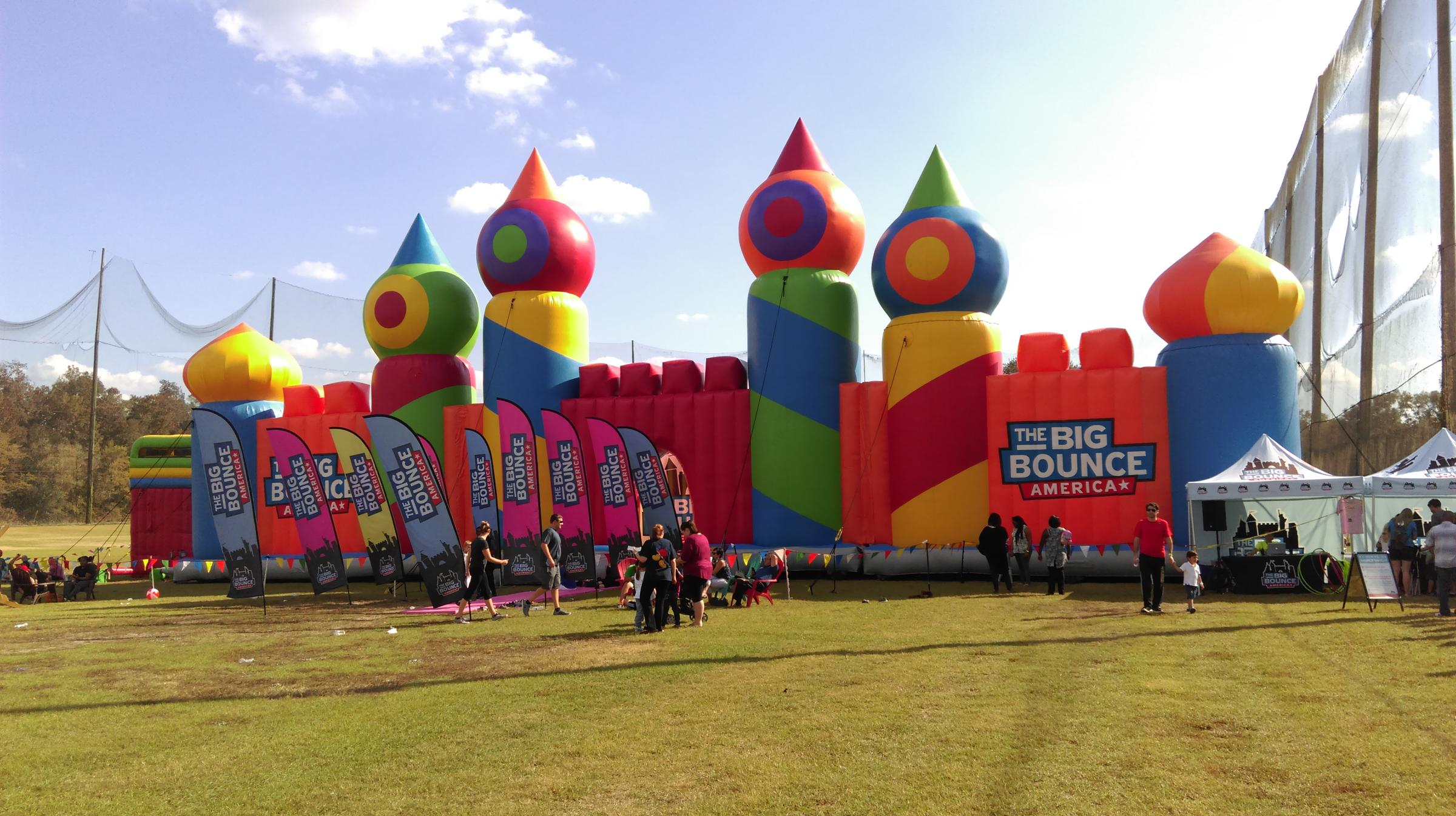 Giant Bounce House Finishes National Tour in Tallahassee ...