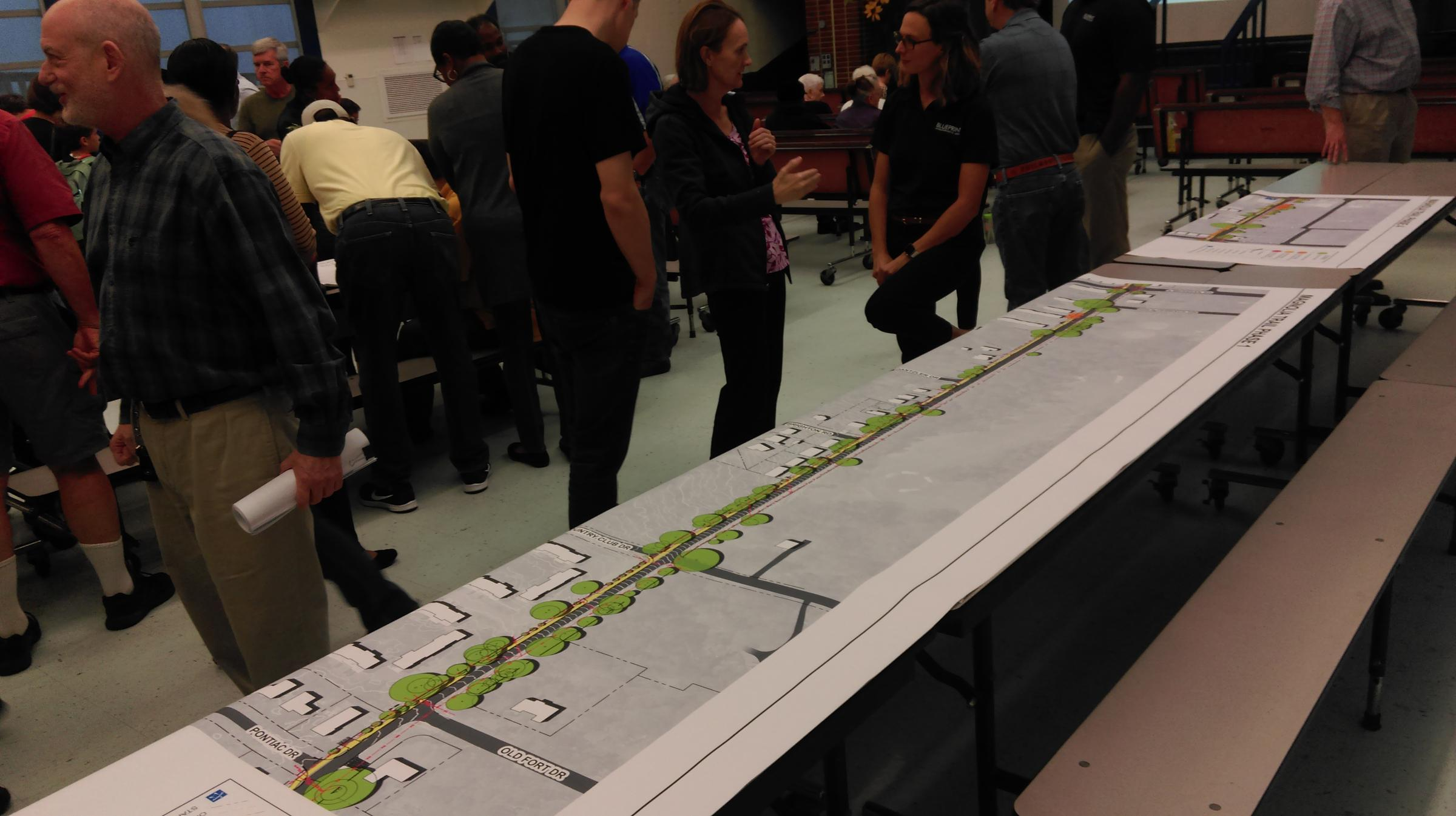 Blueprint holds project meetings wfsu the plan for the proposed magnolia trail project was laid out on cafeteria tables at hartsfield elementary school monday evening malvernweather Gallery