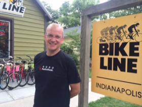 Charlie Revard, Owner of the Bike Line in Broad Ripple