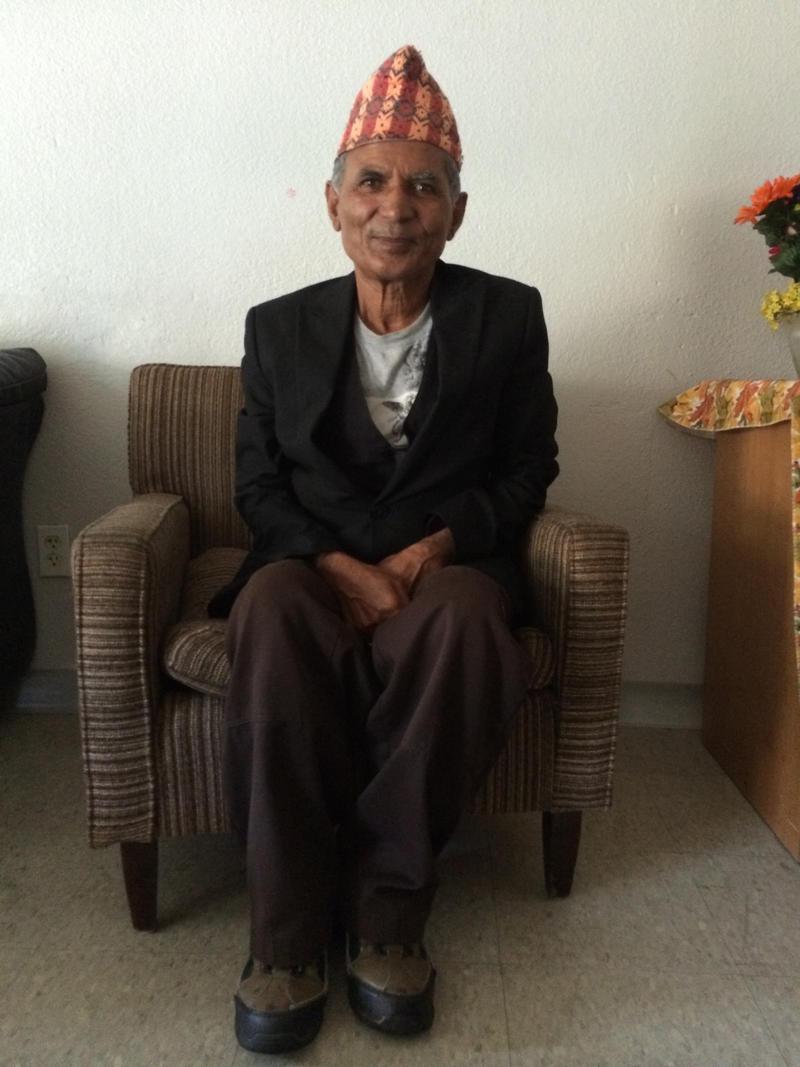 Bhutanese refugee Palak Khadka