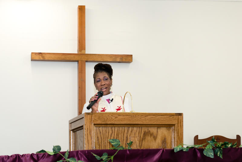 Bishop Gwendolyn Coates-Stone of the God Answers Prayer Ministries of Los Angeles gives a sermon about preparing for the death of loved ones.