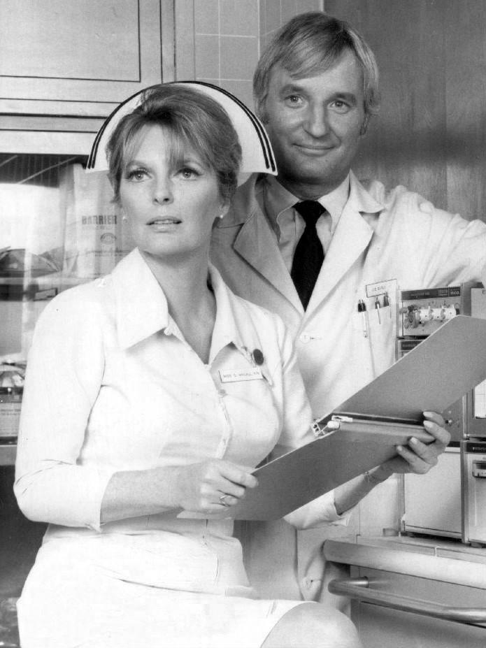 "Bobby Troup and Julie London played opposite each other as doctor and nurse in the 1970s TV program ""Emergency!""."