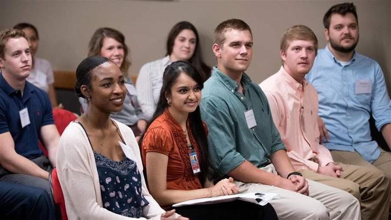 The first class of medical students gathered last week to mark the opening of a branch of the New York Institute of Technology College of Osteopathic Medicine on the campus of Arkansas State University in Jonesboro. Starting new branches of medical school