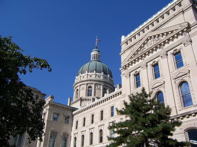 Statehouse of Indiana in Indianapolis