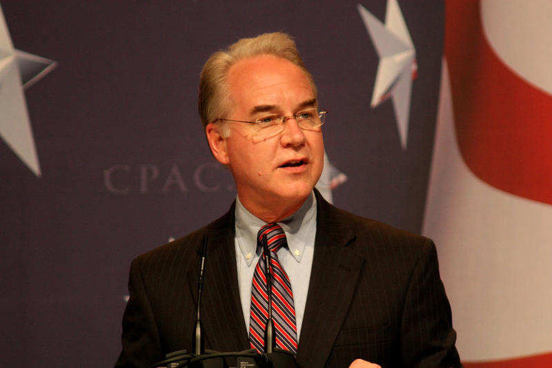 Tom Price, who now heads the Department of Health and Human Services, spoke at the CPAC conference in 2010.