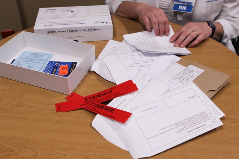 A rape kit (pictured) is used to collect evidence after a sexual assault. How well the kit is completed matters in a prosecution.