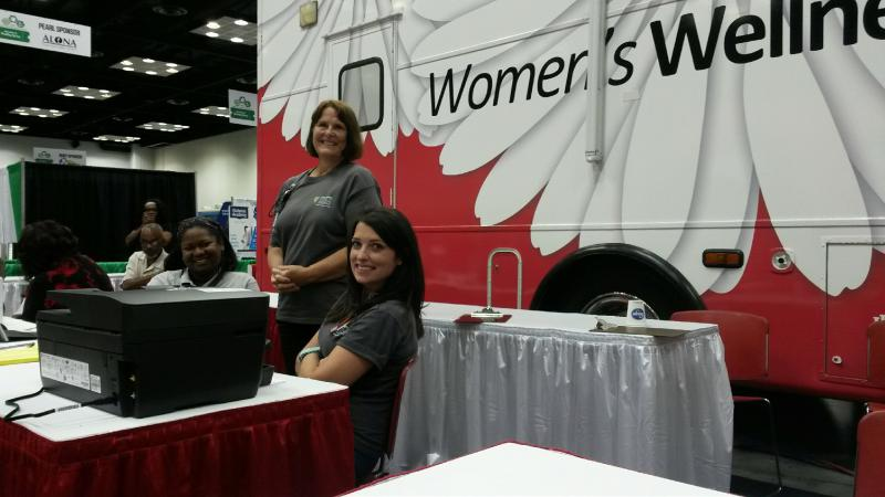 IU School of Medicine's Women's Wellness on Wheels van