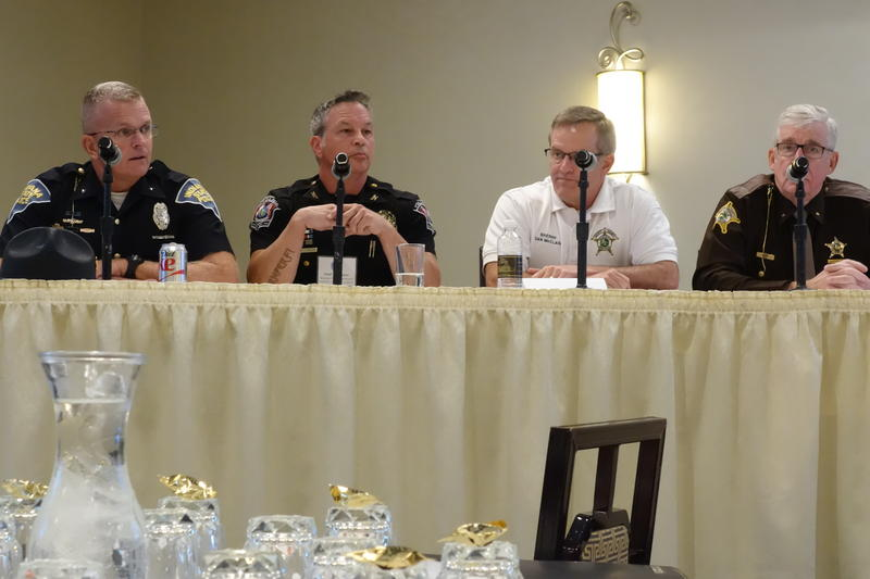 Law enforcement officials discuss their role in curbing the opioid epidemic.