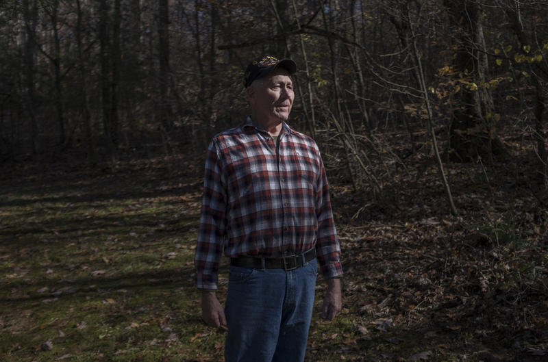 Gary Jones, 75, served two deployments in the Vietnam War and now lives in rural Licking County, Ohio.