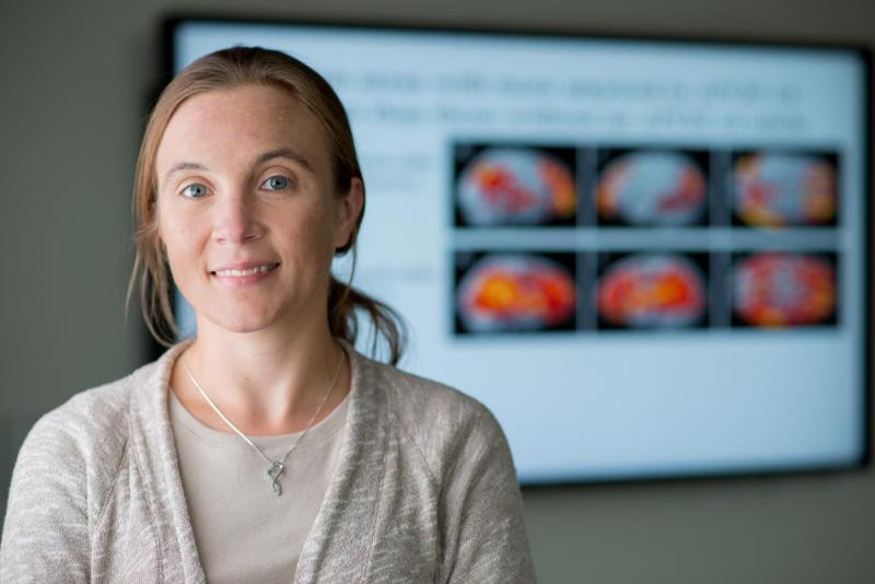 Shannon Risacher led a study focused on how people's sense of smell could be connected to Alzheimer's disease.