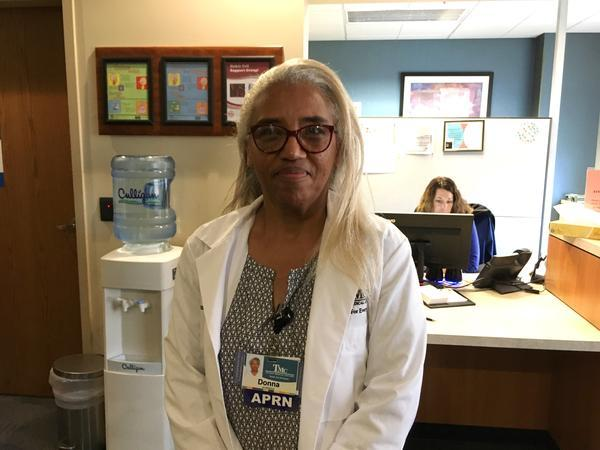Sickle cell specialist Donna McCurry encourages her patients to use alternative pain management strategies to reduce opioid use.
