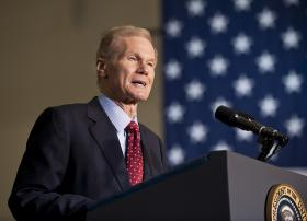 Sen. Bill Nelson's Medicaid expansion plan would involve funding from local hospitals down the road.