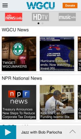 WGCU Mobile App Version 3.2