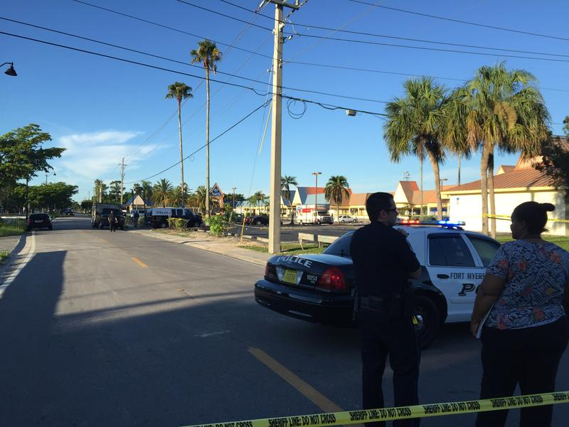 Image from the shooting scene.