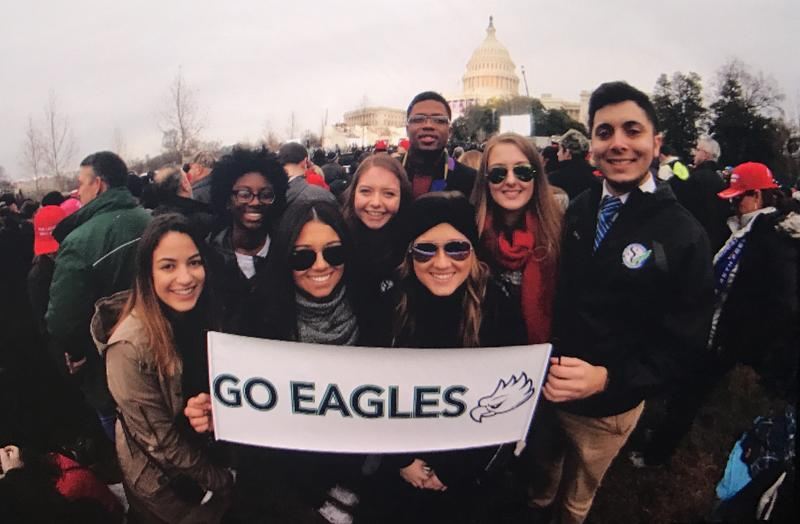 FGCU Students attending Donald Trump's Inauguration