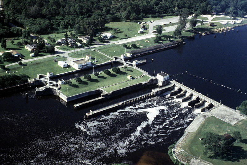 St. Lucie Lock and Dam on the Okeechobee Waterway