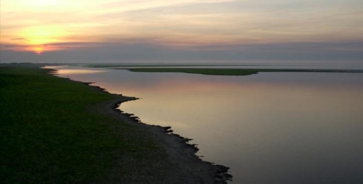 Sunrise over Lake Okeechobee near the City of Okeechobee.