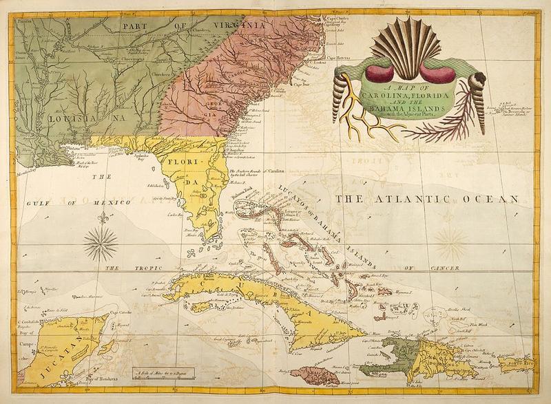 Old Florida Maps.Julie Glenn Wgcu News